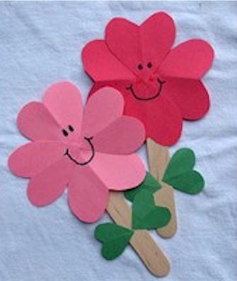 Valentine Heart Flowers