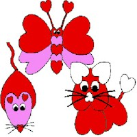 Image of Valentine Heart Pets