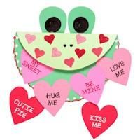 Hippity Hoppity Valentine Card