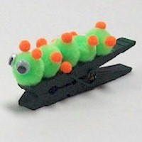 Image of Inch Worm Clip Clip