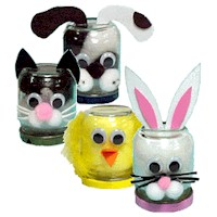 Baby Food Jar Animals