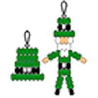 Leprechaun and Hat Pony Bead Projects