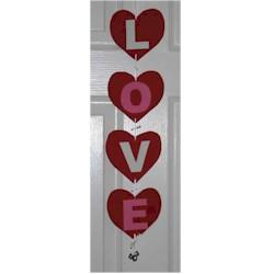 Image of Love Doorhanger