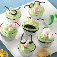 Image of Martian Cupcakes