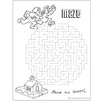 Back-to-School Word Search and Maze