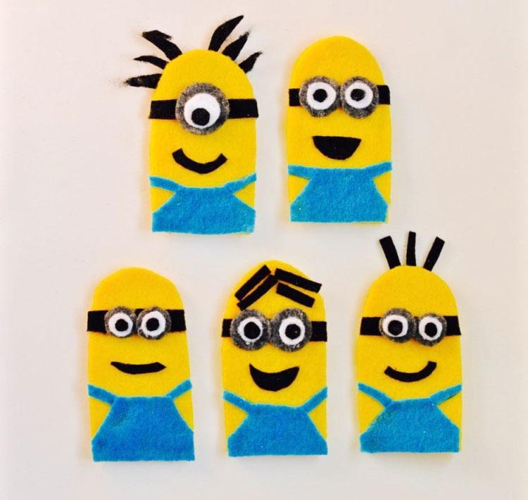 Slikovni rezultat za minion finger puppets
