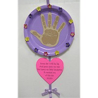 Mother's Day Handprint Poem