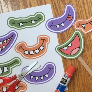 Image of Monster Mouth Photo Props