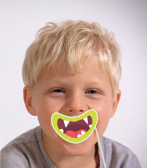 Image of Printable Monster Mouths