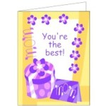 Image of Mothers Day Cupcake Wrapper and Decoration