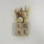 Image of Recycled Scrabble Tile Coasters