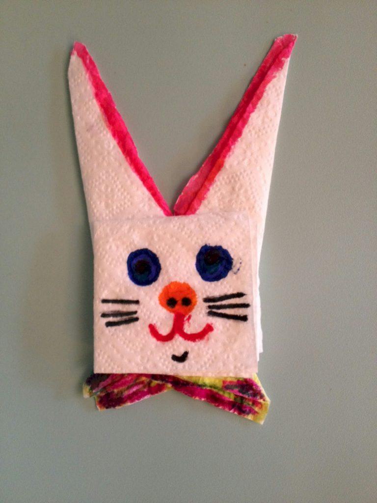 Image of Napkin Bunny