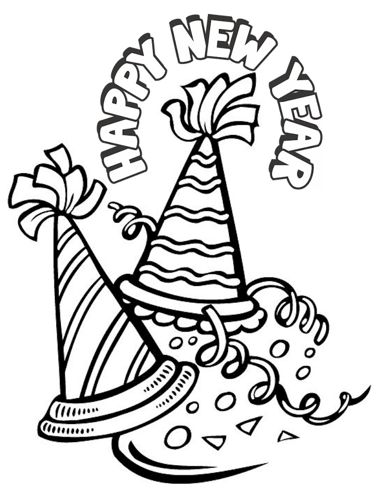 Dynamite image throughout printable new years coloring pages