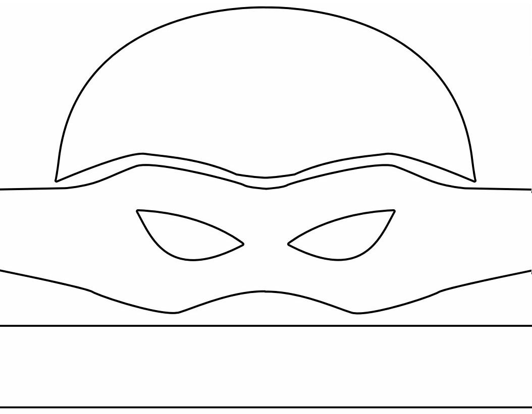 Thebrownfaminaz Ninja Turtles Face Template