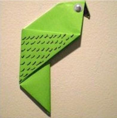 Image of Origami Parakeet