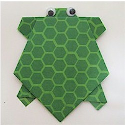 Image of Origami Turtle