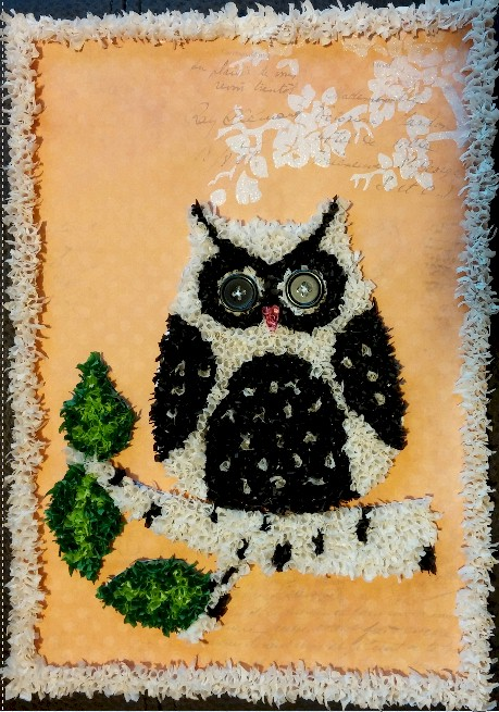 Image of Owl Collage