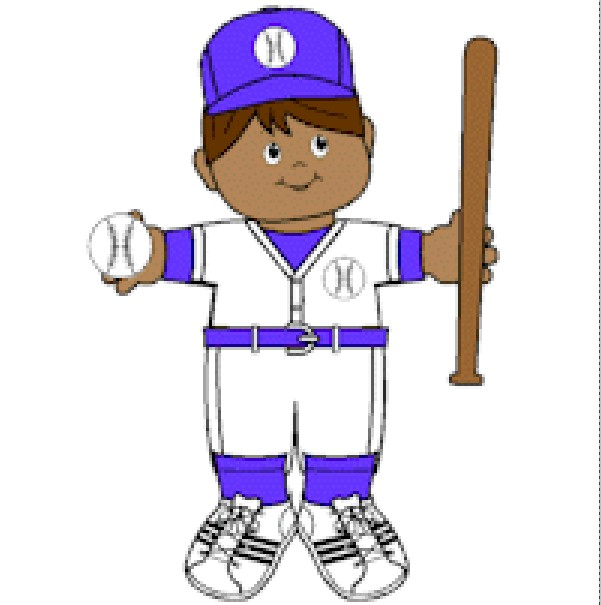 Playtime Baseball Paper Doll