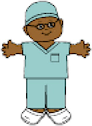Playtime Doctor Paper Doll