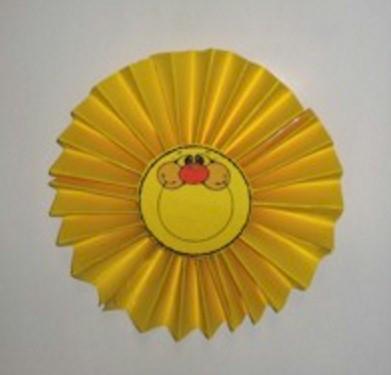 Paper Fan Sun