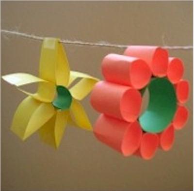 Paper Loop Flowers