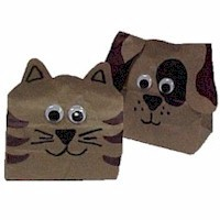 Paper Bag Animals