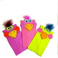 Image of Paper Bag Puppets