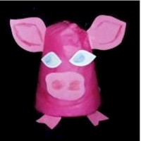 Paper Cup Pig