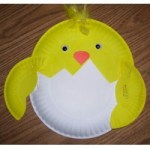 Image of Paper Plate Easter Bunny