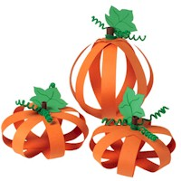 Paper Pumpkins