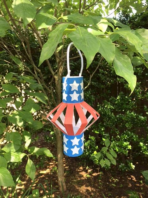 Patriotic Lantern