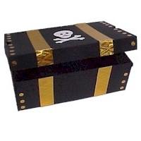 Image of Shoe Box Pirates Treasure Chest