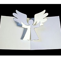 Image of Pop Up Angel Card