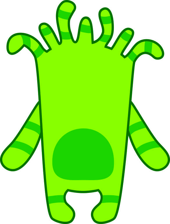 photograph about Printable Monster named Monster Printables