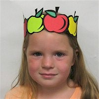 Image of Printable Apple Crown