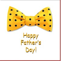 Bow Tie Fathers Day Card