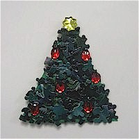 Puzzle Piece Christmas Tree