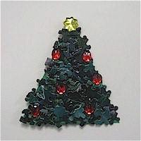 Image of Puzzle Piece Christmas Tree