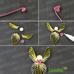 Image of Quilled Angel