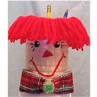 Raggedy Andy Pencil Holder