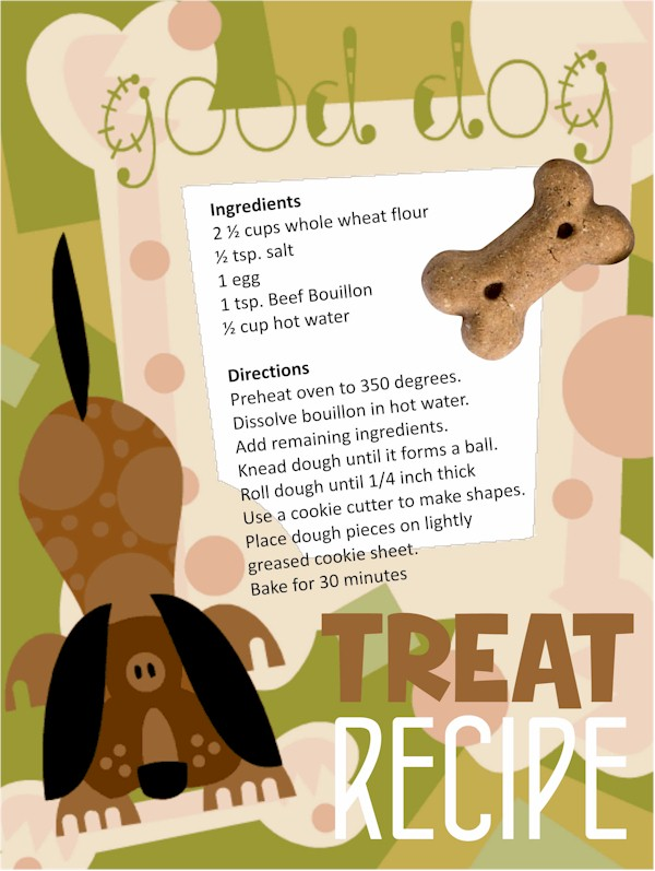 Recipe Card for Dog Treats