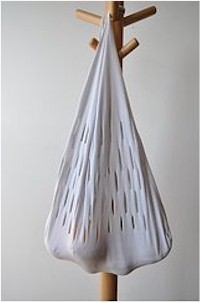 Image of Recycled Tee Shirt Grocery Bag