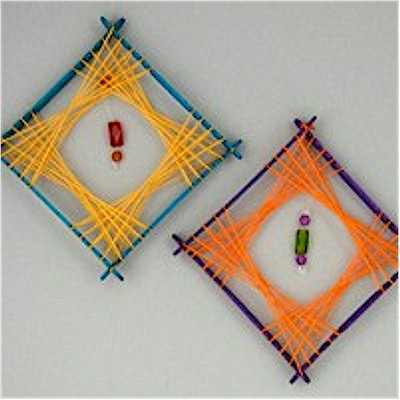 Image of Retro String Art Decorations