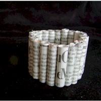 Rolled Paper Bracelet