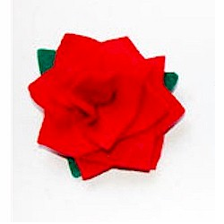 Felt Rose Broach