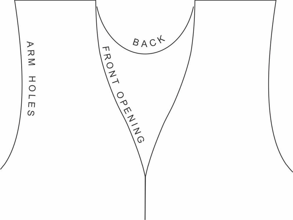 image regarding Printable Vest Pattern called Paper Bag Safari Vest