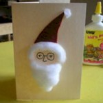 Image of Handprint Santa Craft