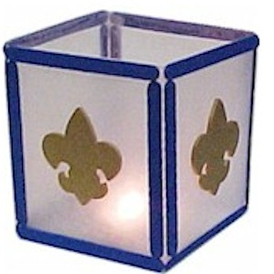 Image of Boy Scout Lantern Craft
