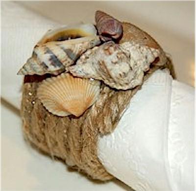 Image of Seashell Napkin Rings