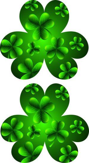Image of St. Patricks Day Shamrock Parade Wand